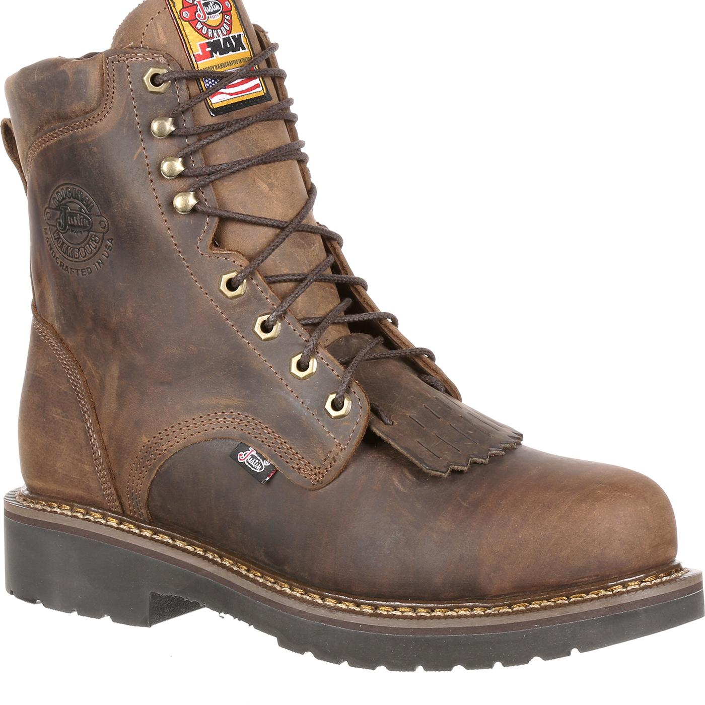 1da72fb2a19 Justin Work Steel Toe CSA-Approved Puncture-Resistant Work Boot