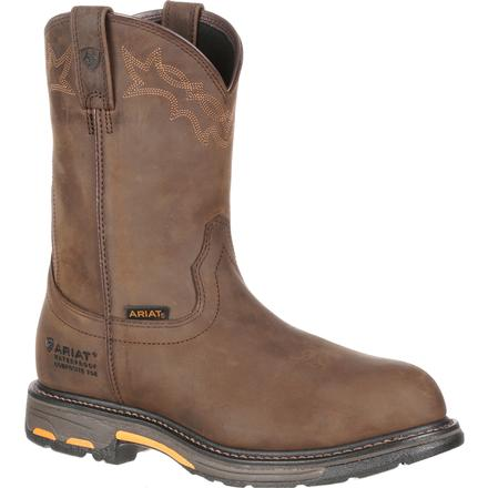 Ariat WorkHog H2O Composite Toe Waterproof Western Work Boot