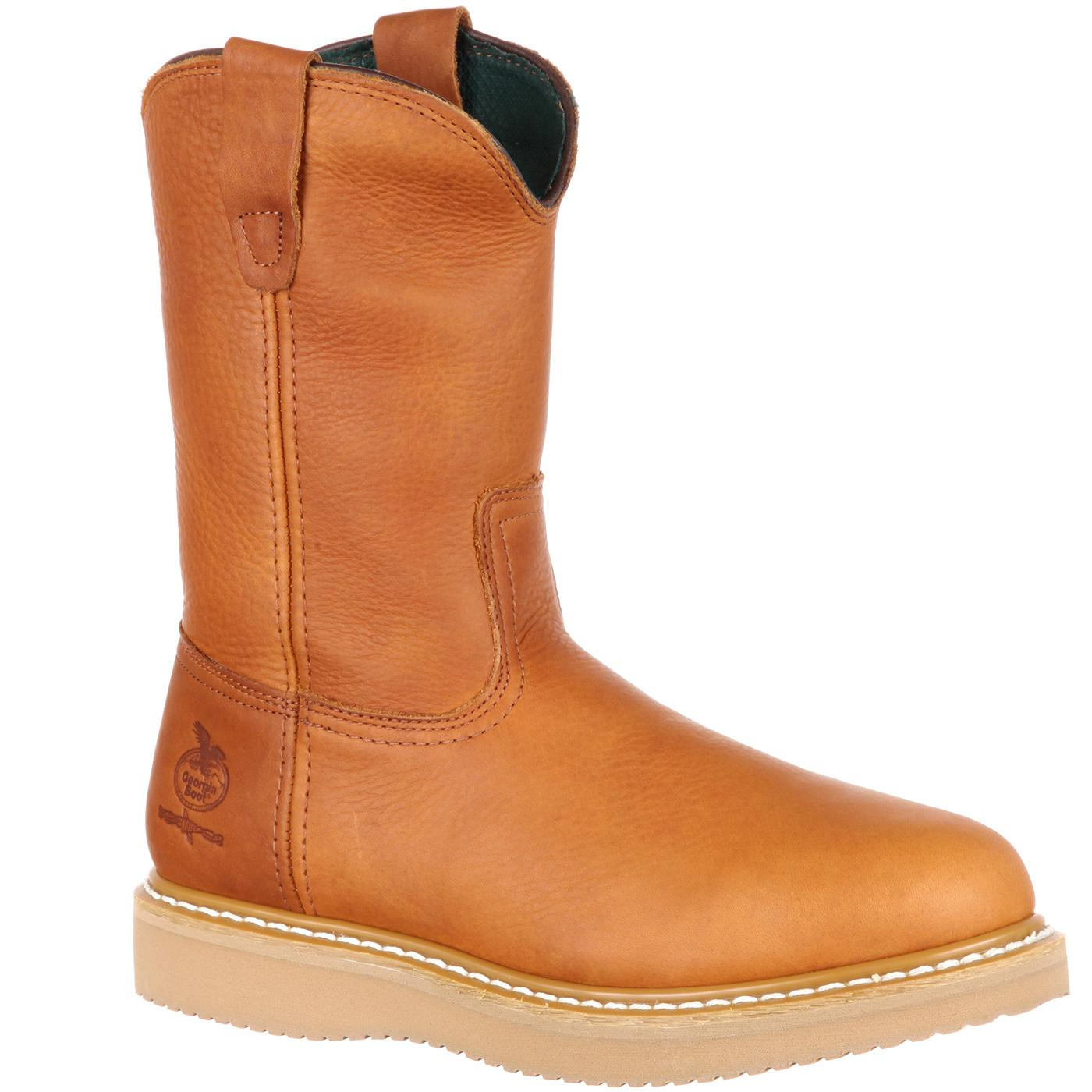 aefd2d3e311adc Wellington Work Boots for Farm   Ranch Boot needs by Georgia Boot G5153