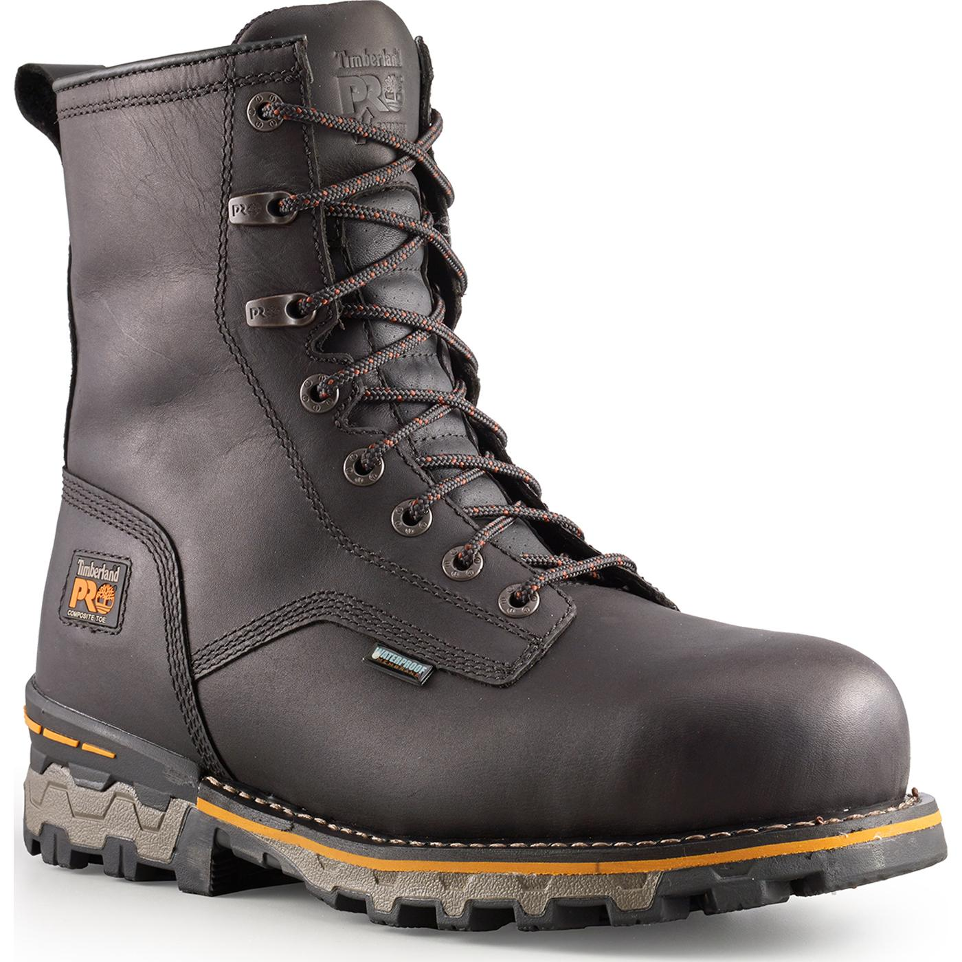 9189d4dbc022 Timberland PRO TiTAN Boondock Composite Toe Waterproof Work Boot