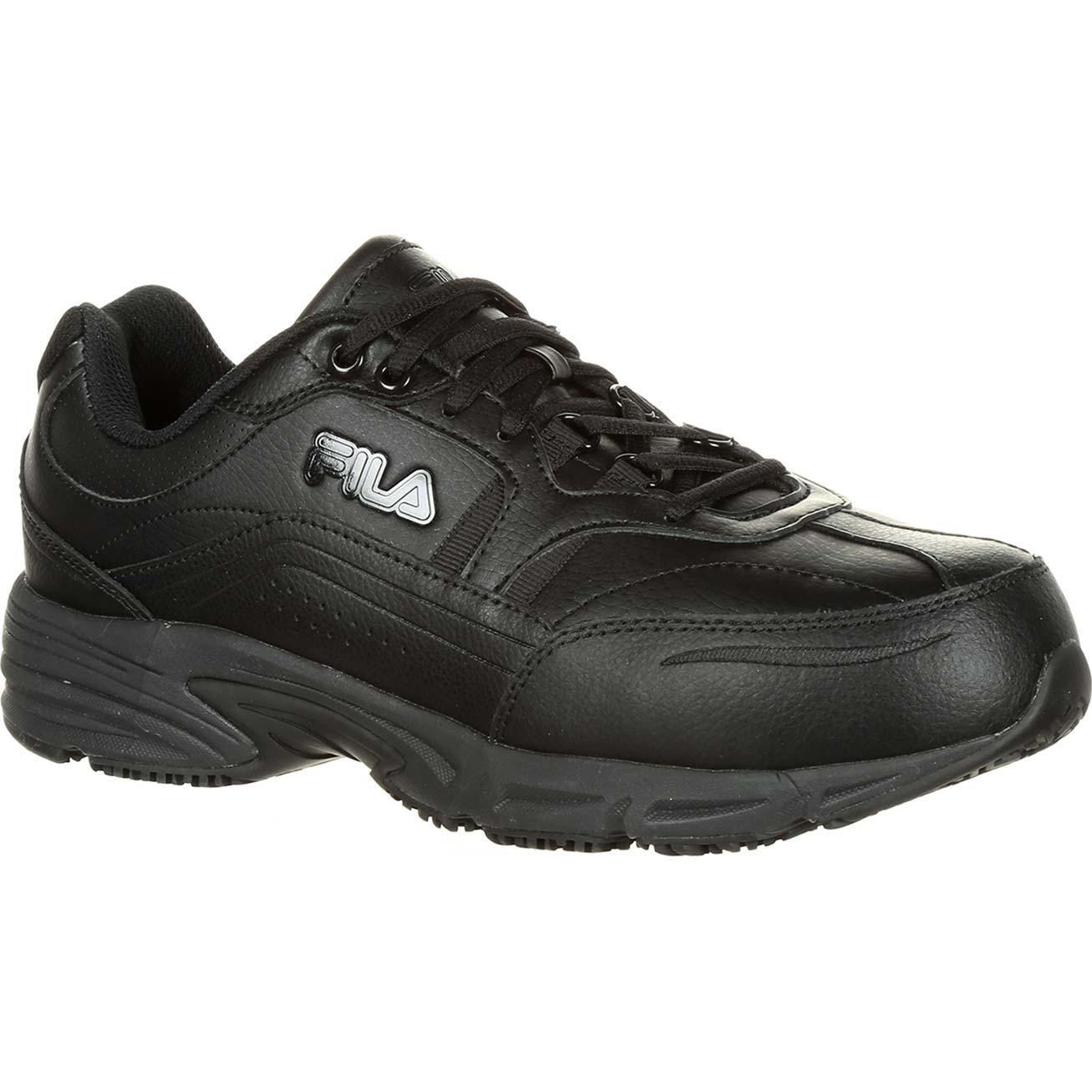 c518643cc7 Fila Memory Workshift Composite Toe Slip-Resistant Work Athletic Shoe