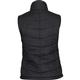 Rocky Women's Quilted Vest, BLACK, small