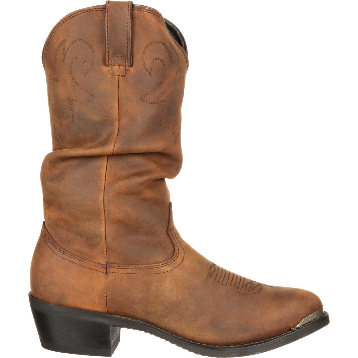 s distressed western slouch boot durango boot sw542