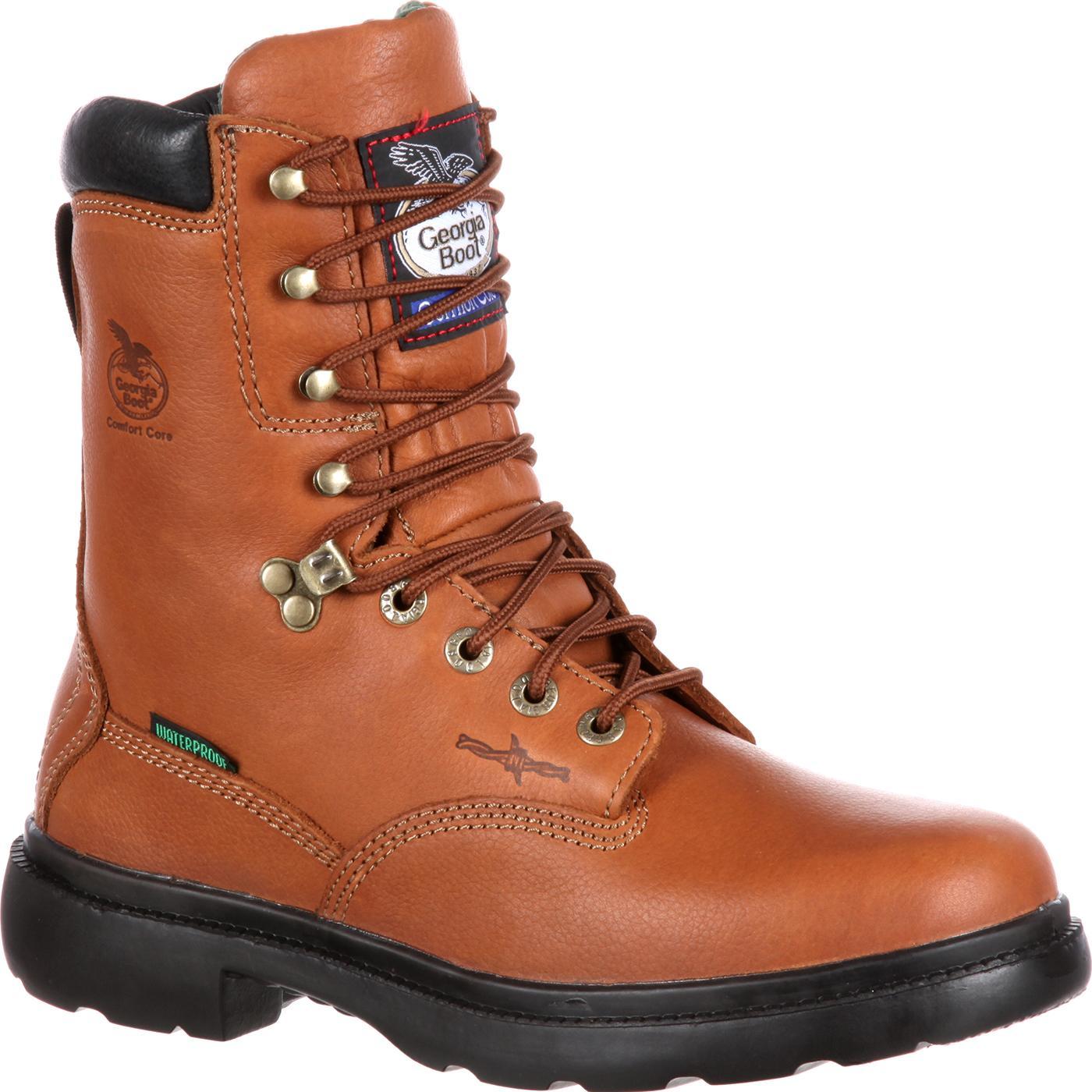 d0977701500 Georgia Boot Waterproof Farm & Ranch Work Boot