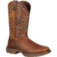 Rebel by Durango Steel Toe Pull-On Western Boot, , medium