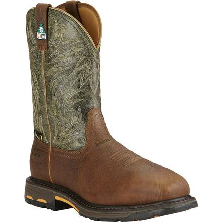 Ariat Workhog Composite Toe Met Guard CSA-Approved Puncture-Resistant Western Work Boot