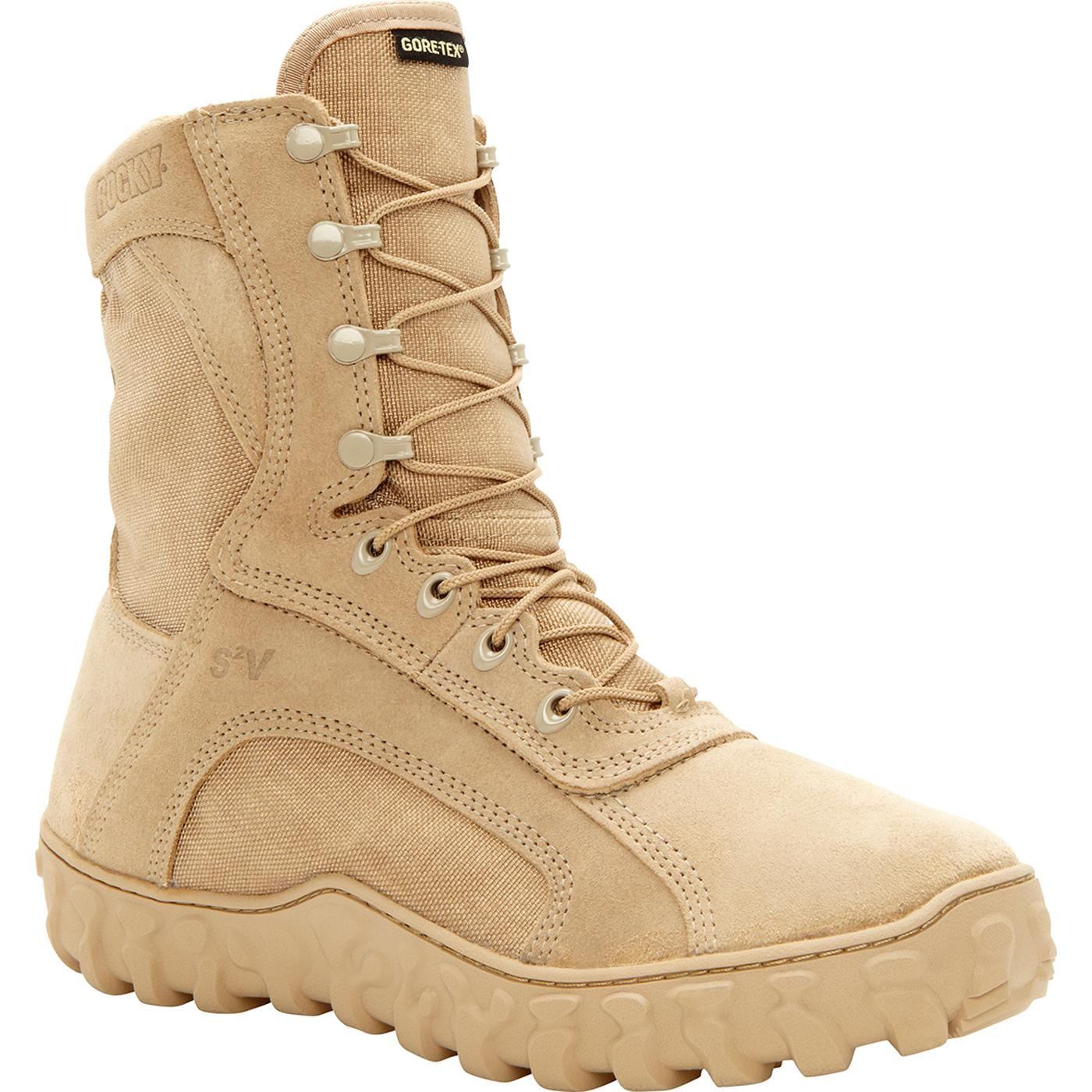 0494a2693c50 Rocky S2V GORE-TEX® Waterproof 400G Insulated Tactical Military Boot