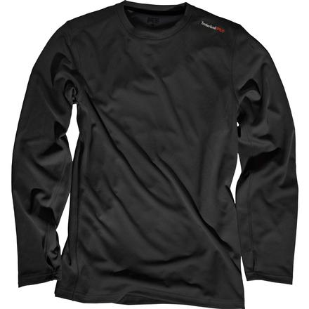 Timberland PRO Wicking Good Long-Sleeve T-Shirt, BLACK, large