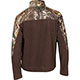 Rocky SilentHunter Fleece Jacket, Brown w/RLTRE XTRA, small