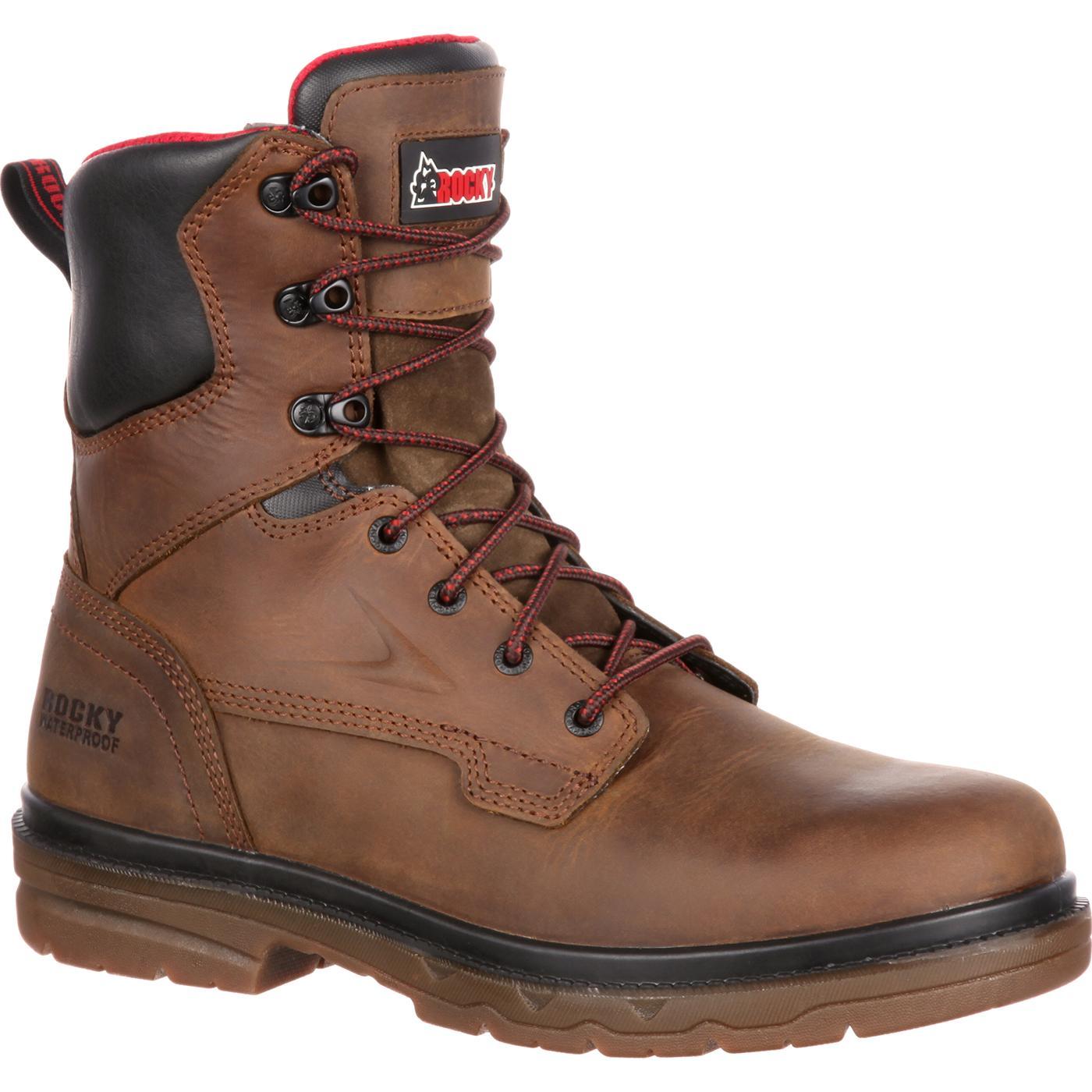 c7a8d2a134c Rocky Elements Shale Steel Toe Waterproof Work Boot
