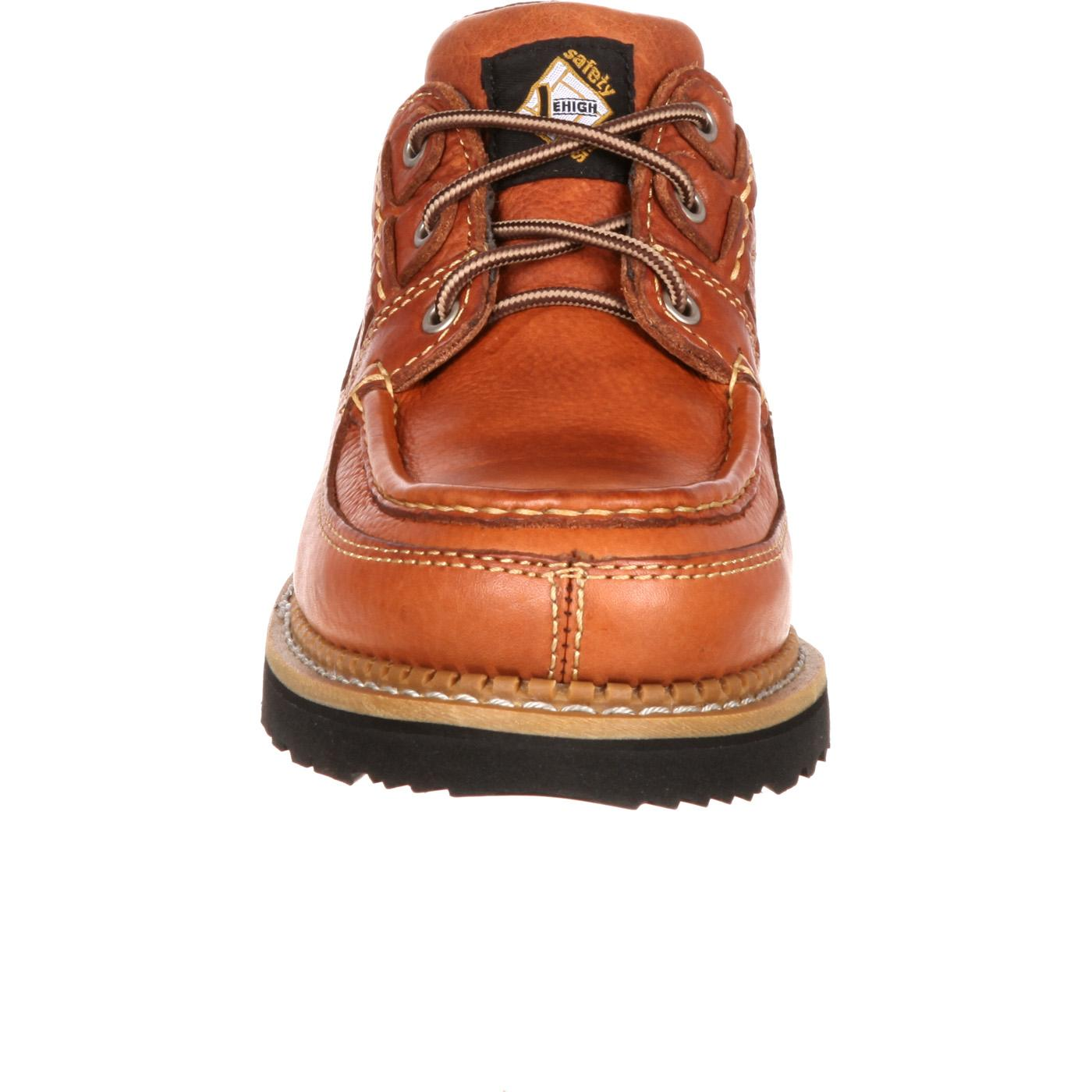 Lehigh Steel Toe Boat Shoes