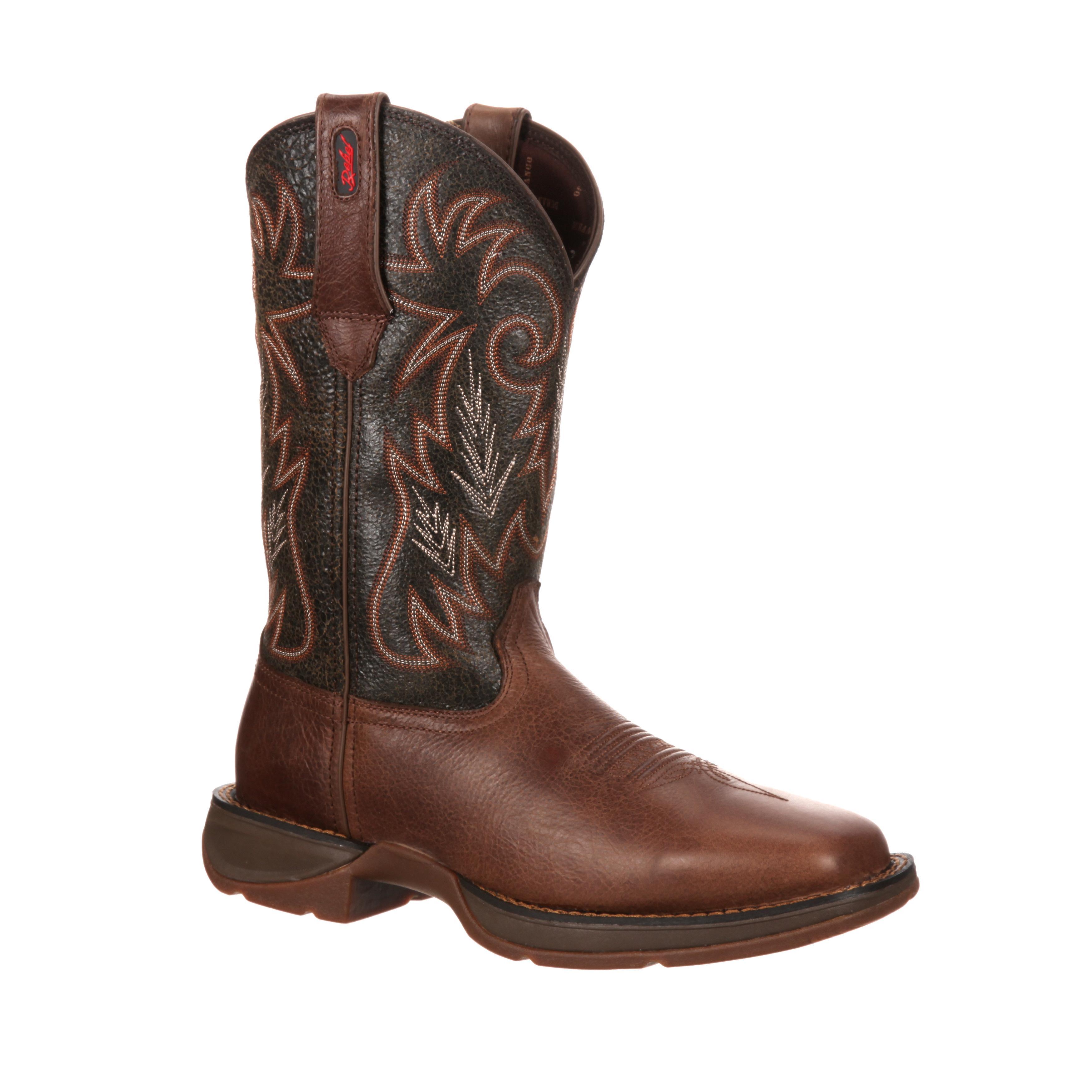 Rebel by Durango Pull-On Western Boot, #DWDB013