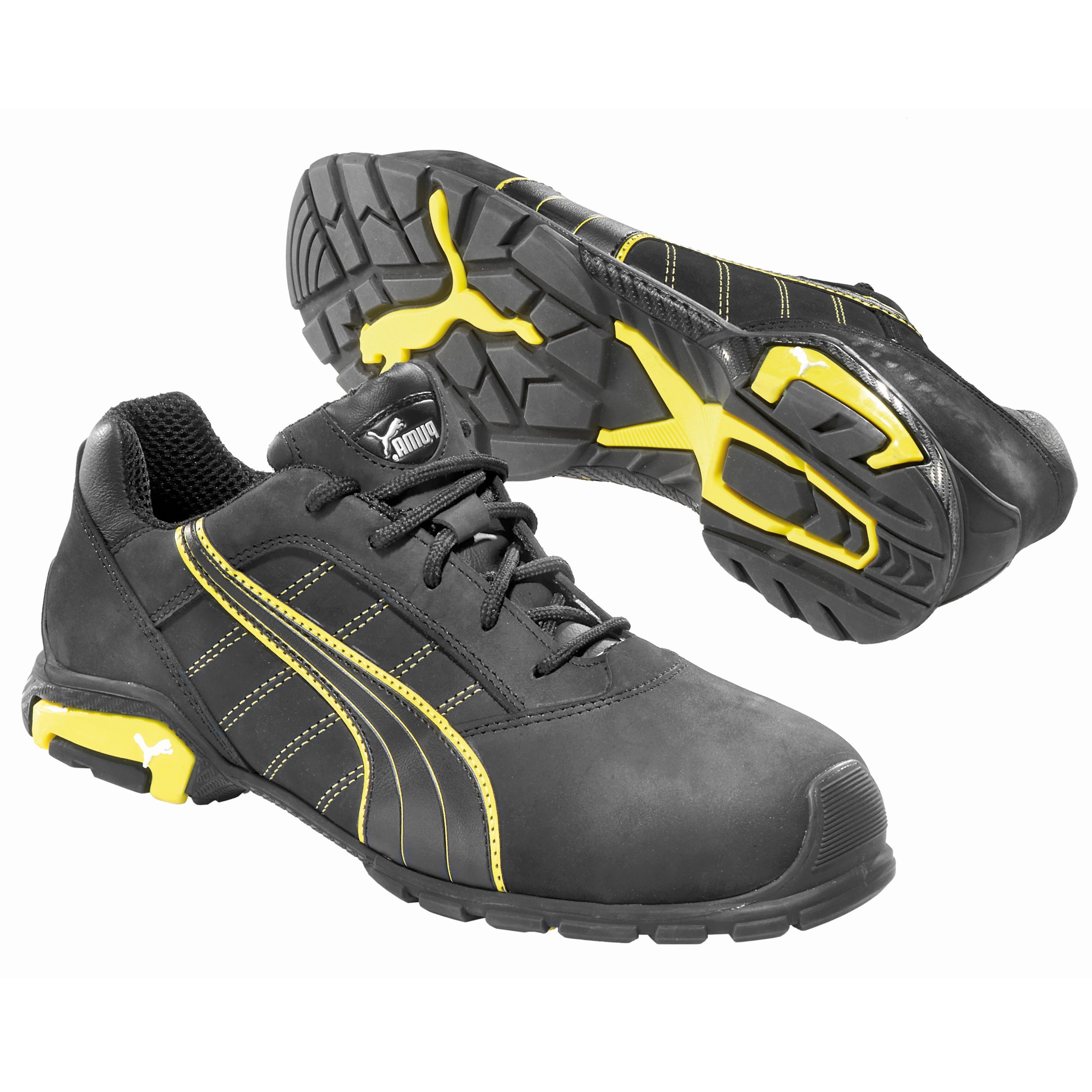 cee20729860bb2 Puma Amsterdam Low Aluminum Toe Static-Dissipative Work Athletic Shoe