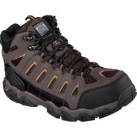 SKECHERS Work Blias-Bixford Men's 6 inch Steel Toe Electrical Hazard Waterproof Work Hiker, , medium