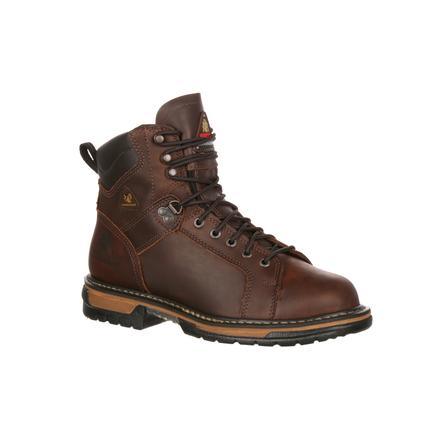 f8510ade6c7 Rocky IronClad Waterproof Lace To Toe Work Boots
