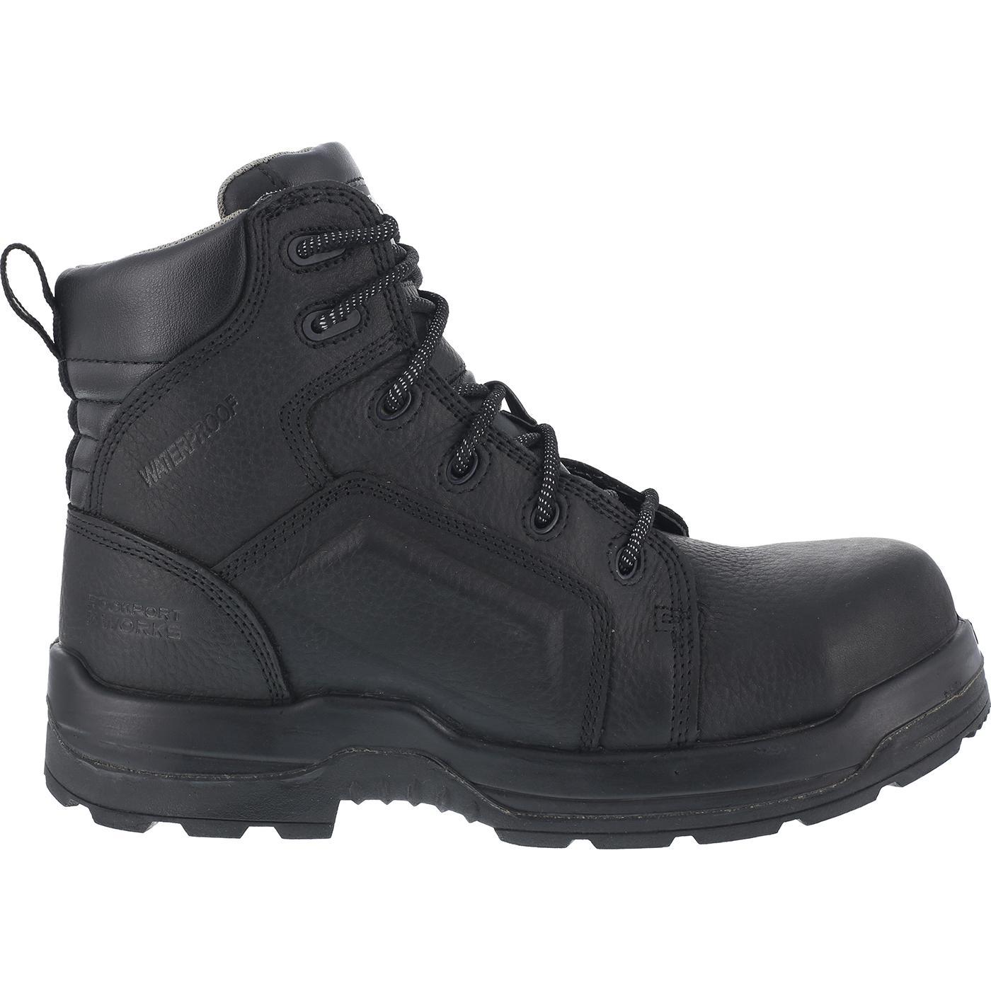 rockport s composite toe waterproof work boots rk635