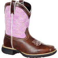 dd5f5b8576125 Lil' Durango Little Kids' Lavender Pull-On Western Boot