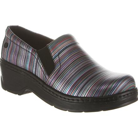 Klogs Naples Blurred Line Women's Work Clogs