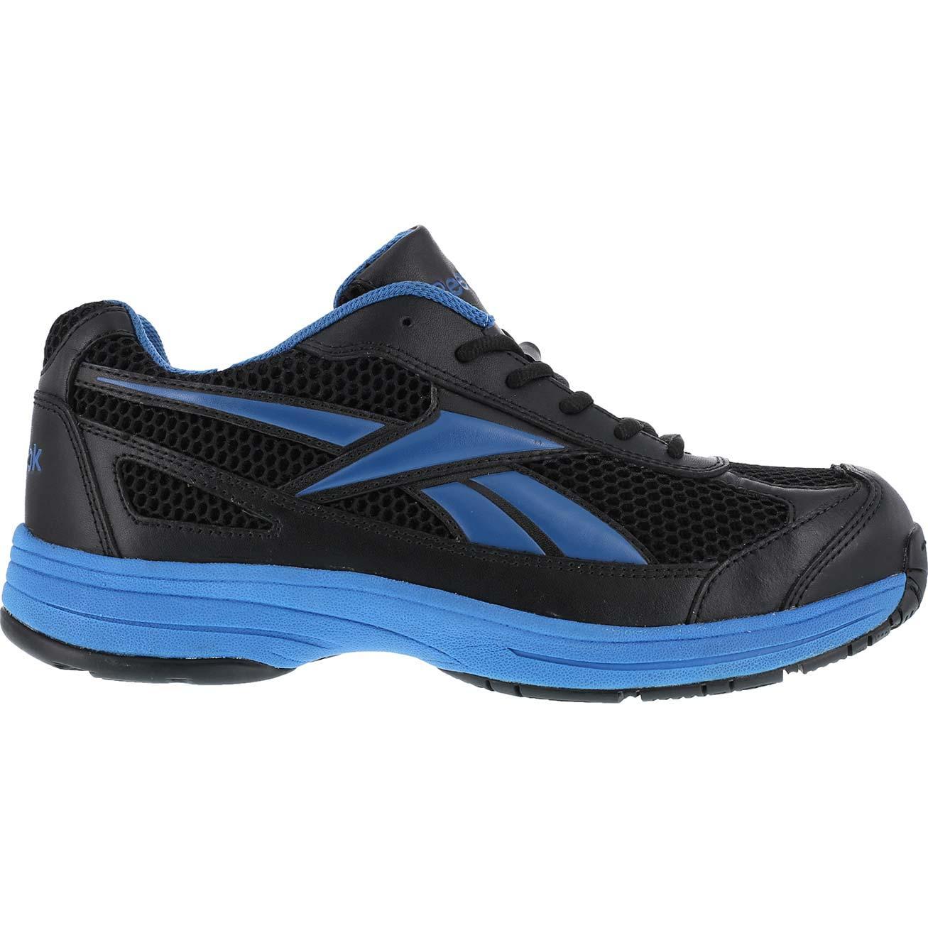 Reebok Steel Toe LoCut Athletic black   light blue  RB1620 8b2118370