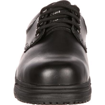SlipGrips Women's Steel Toe Slip Resistant Oxford