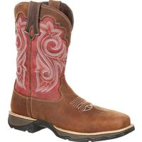 Lady Rebel by Durango Women's Waterproof Composite Toe Western Work Boot, , medium
