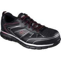 SKECHERS Synergy Fosston Alloy Toe Work Athletic Shoe, , medium