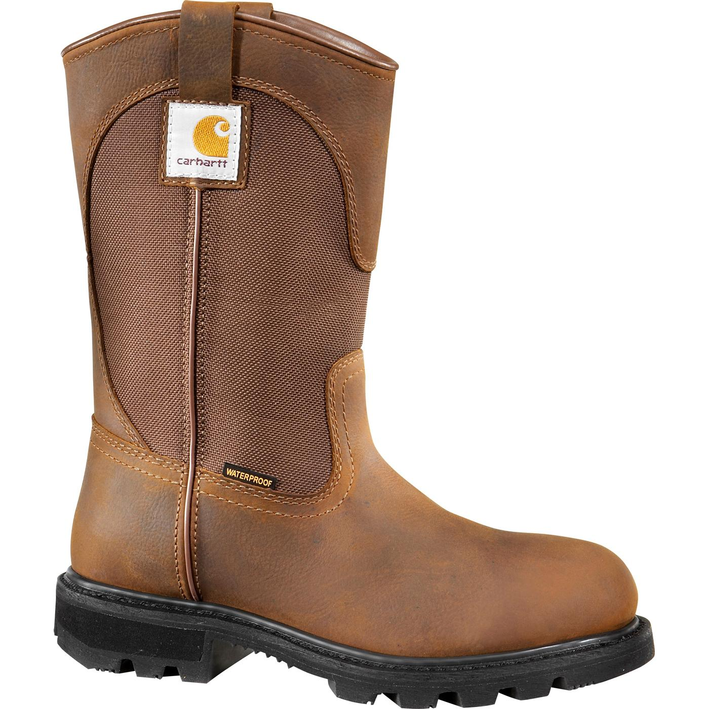 Carhartt Traditional Welt Women s Steel Toe Waterproof Work Wellington 62b7e49f32