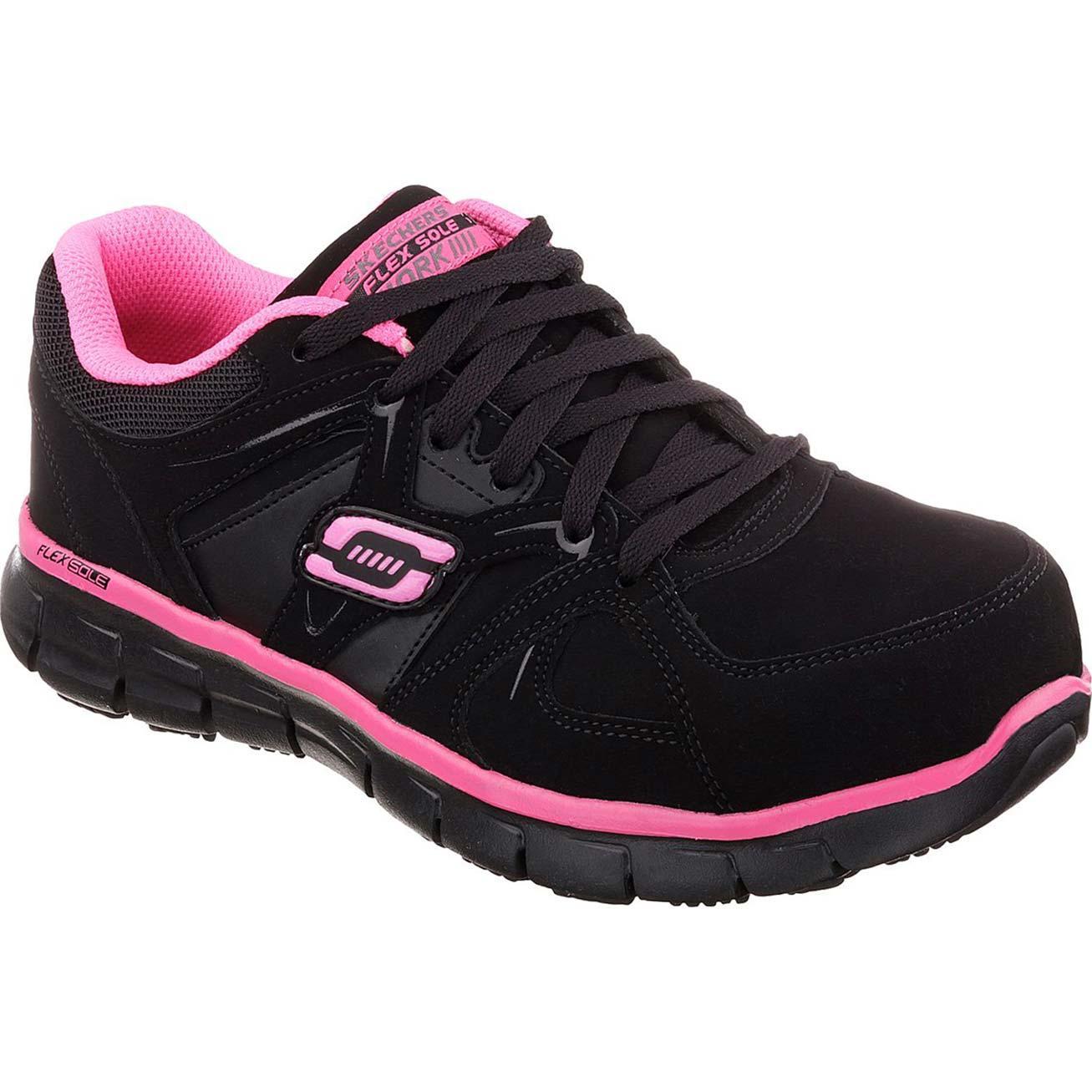 SKECHERS Work Synergy Sandlot Women's Alloy Toe Work Athletic Shoe