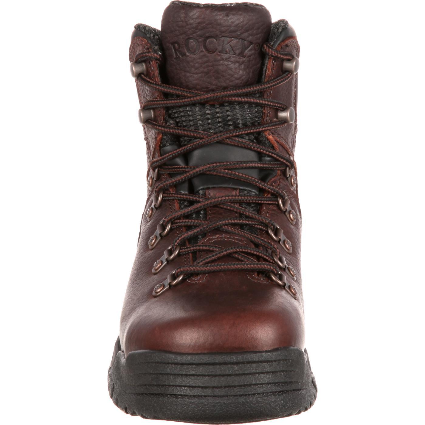 aa032f0b457 Rocky Women's Mobilite Steel Toe Waterproof Work Boot