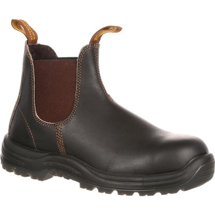 Blundstone Extreme Safety Steel Toe Twin-Gore Slip-On Work Shoe