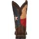 Lady Rebel by Durango Texas Flag Pull-On Western Boot, , small