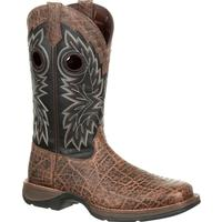 Rebel by Durango Elephant Grain Western Boot, , medium