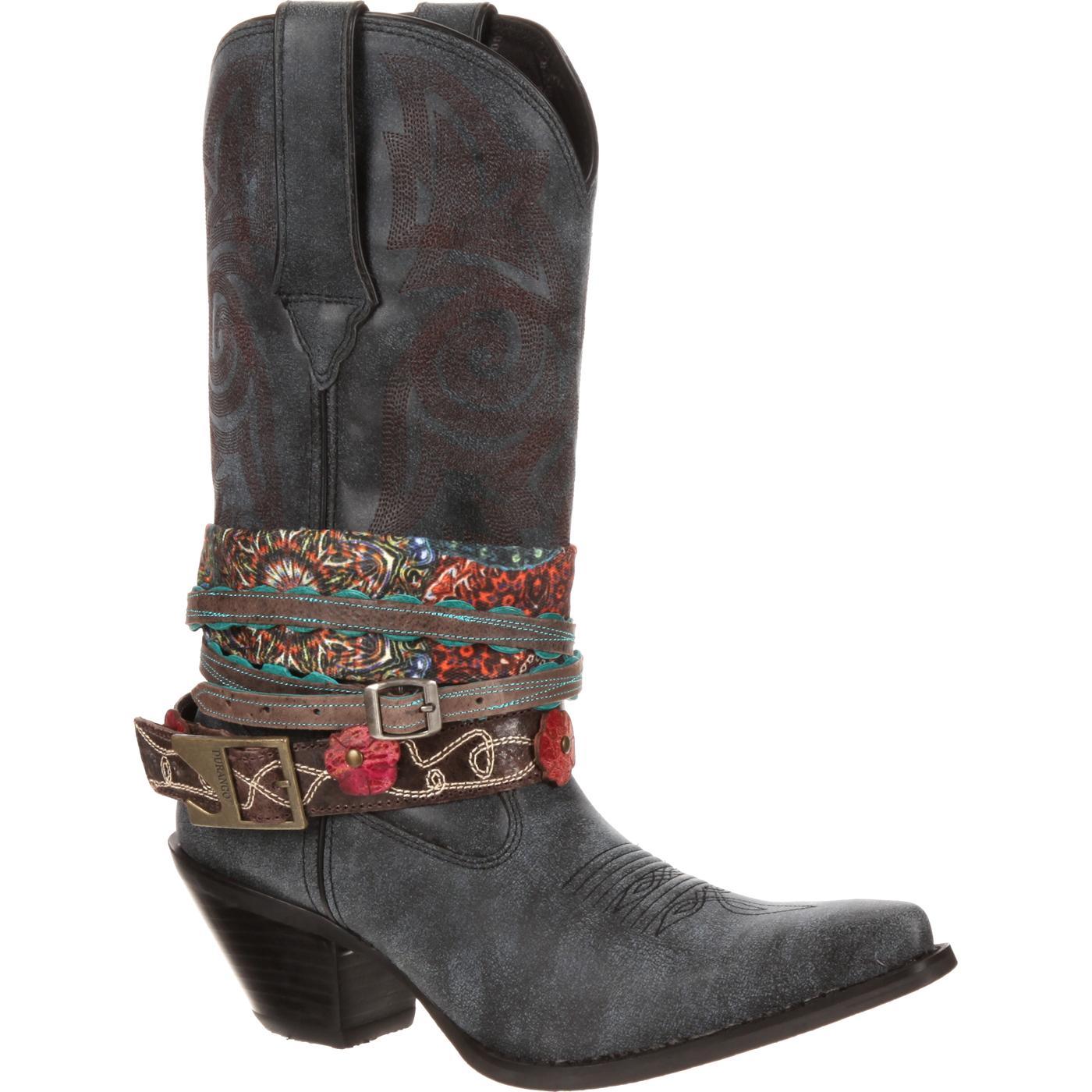 89454b2c136 Crush by Durango Women s Accessorize Western Boot