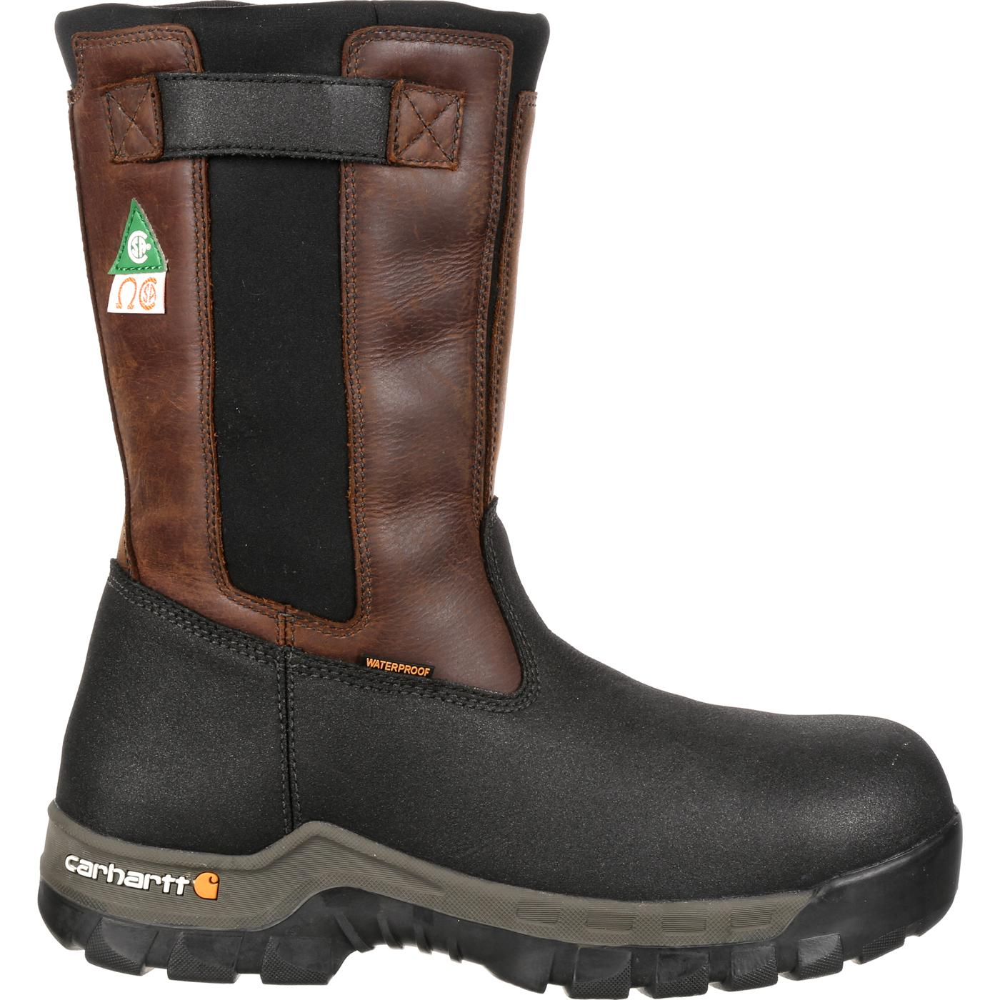 165e3ad5f6f Carhartt Rugged Flex Composite Toe Waterproof Wellington