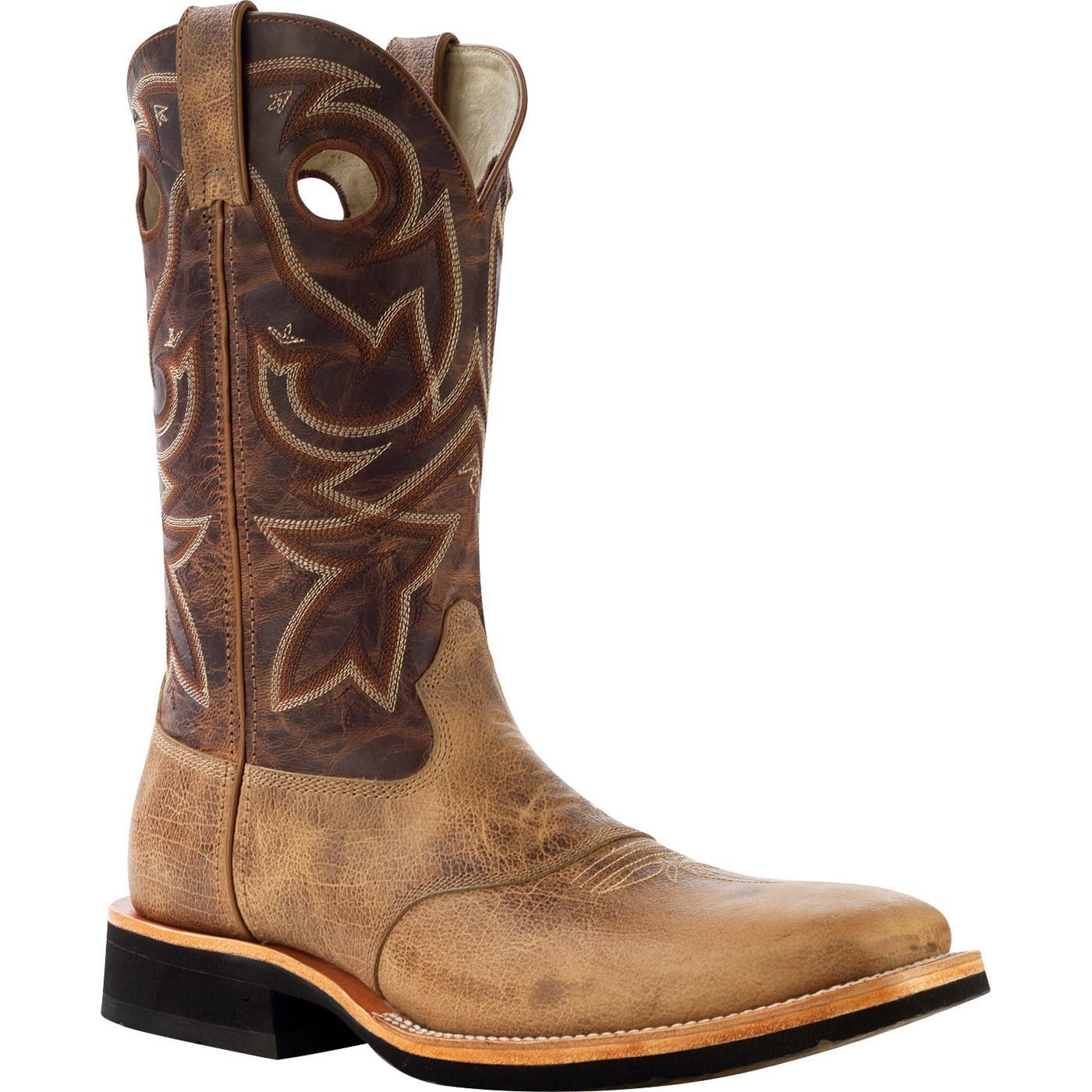 These Rocky Men's Dually Crepe EX4 Western Boots Are