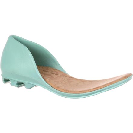 4EurSole Inspire Me Women's Turquoise Accessory Closed Back Footbed, , large