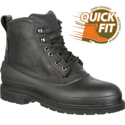 QUICKFIT Collection: Lehigh Safety Shoes Swampers Unisex Steel Toe Waterproof 100g Insulated Work Shoe, , large