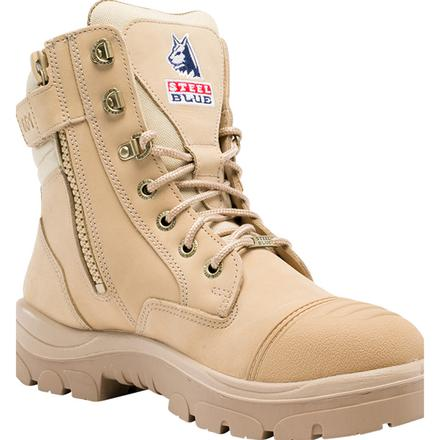 Steel Blue Southern Cross Zip Men's 6 inch Steel Toe Electrical Hazard Work Boot