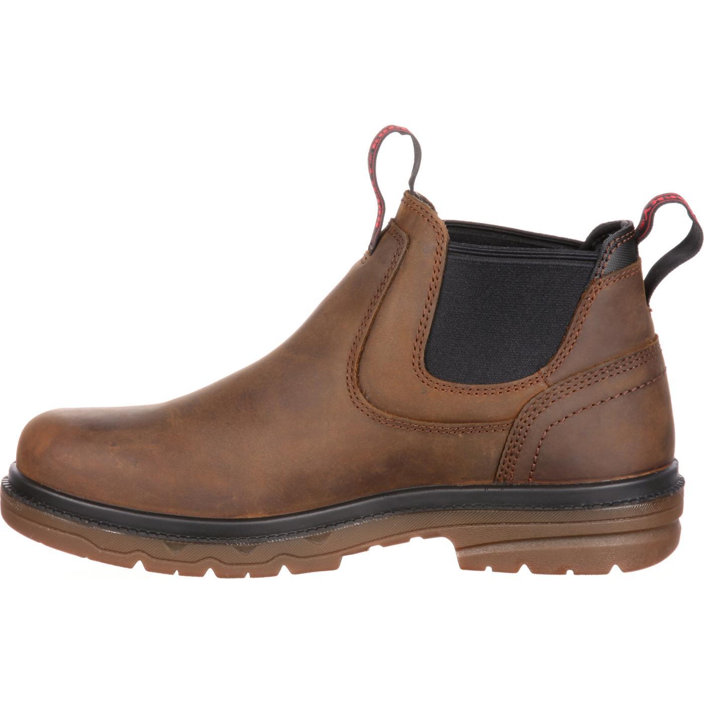 03a9b669b87 Rocky Elements Shale Steel Toe Waterproof Romeo Work Boot