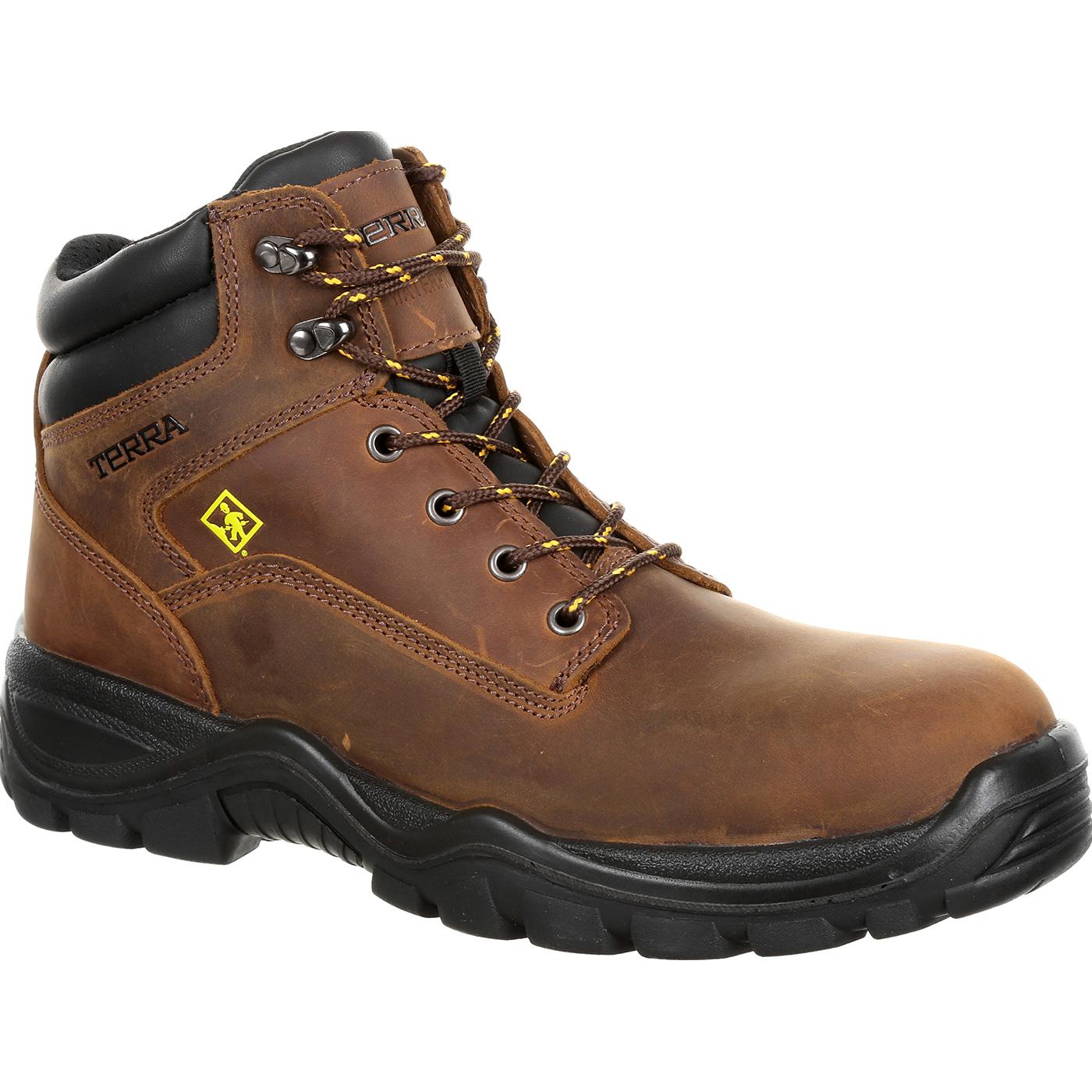 801a05a5271 Terra Grafton Men's CSA Composite Toe Puncture-Resistant Electrical Hazard  Waterproof Work Hikers