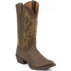 Justin Stampede Huck Brown Western Boot, , medium