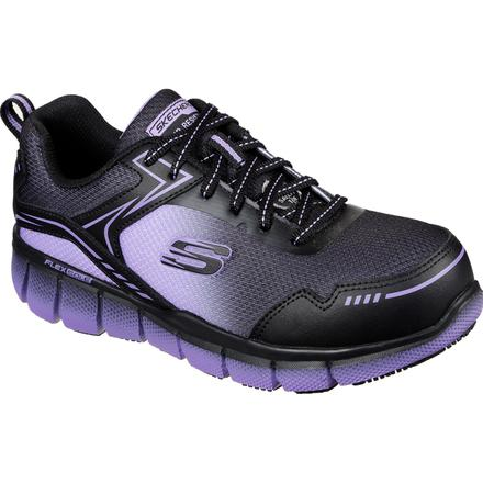 SKECHERS Work Telfin-Arterios Women's Alloy Toe Electrical Hazard Puncture-Resisting Athletic Work Shoe