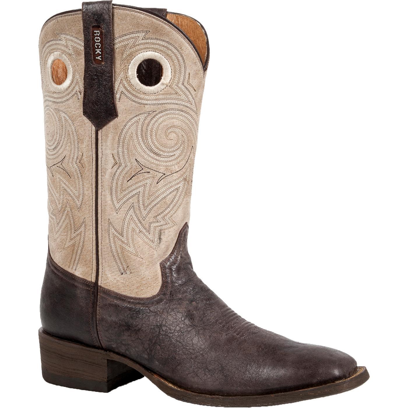 c1b3c4fe47c Rocky HandHewn Western Boot