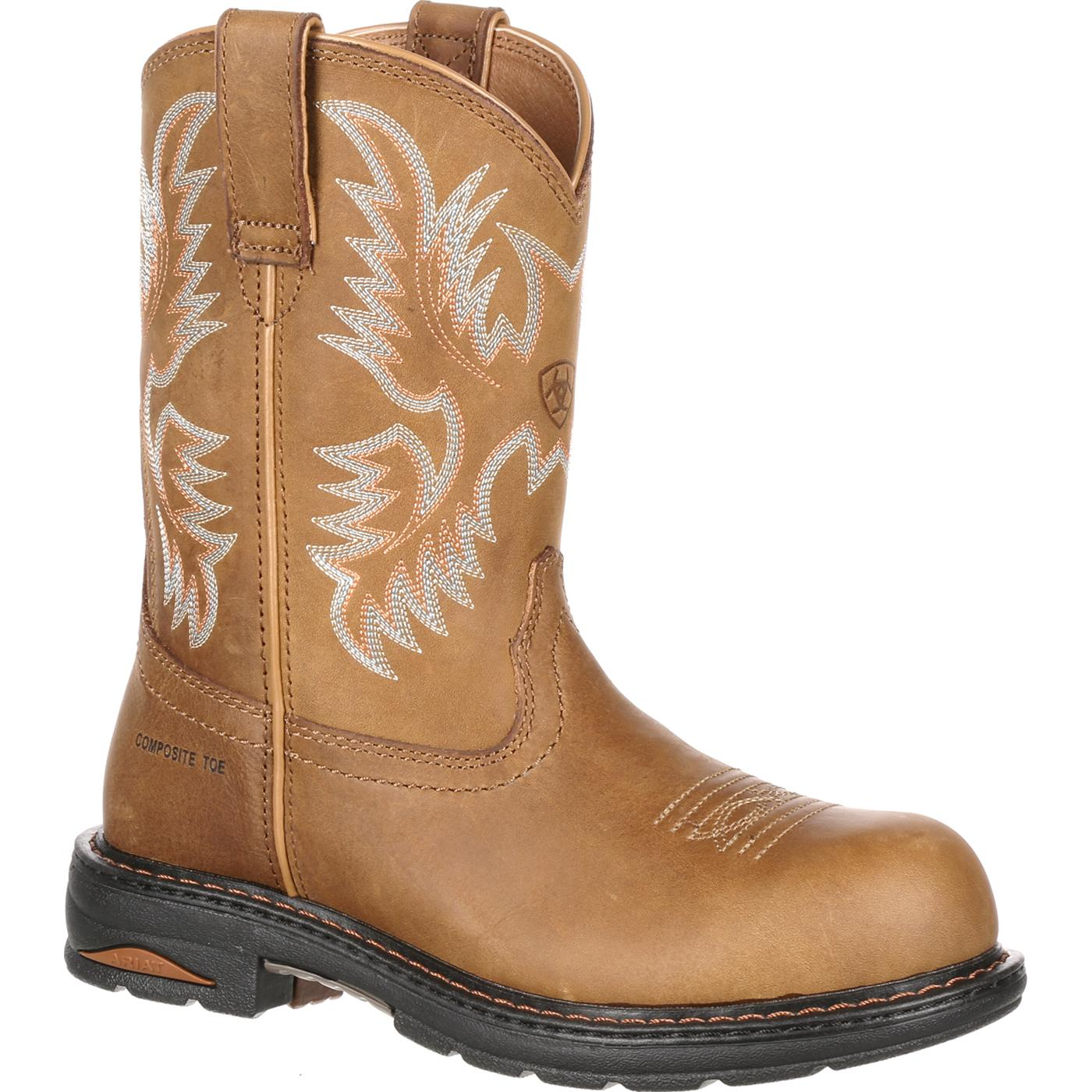 c989018243a Ariat Tracey Women's Composite Toe Western Work Boot