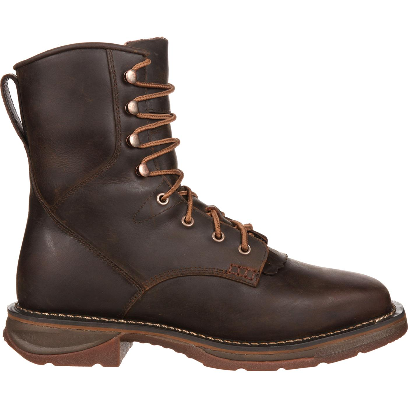 38edfb0f8c8 Workin' Rebel by Durango Steel Toe Waterproof Western Lacer Boot