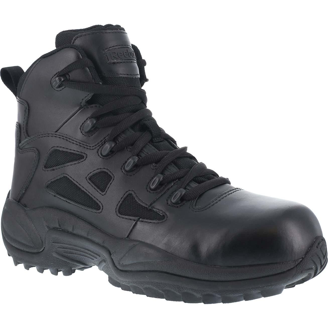 Reebok Black Composite Toe 8