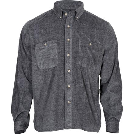 Rocky SilentHunter Classics Fleece Button Shirt, GRAY, large