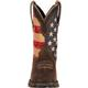 Lady Rebel by Durango Patriotic Women's Pull-On Western Flag Boot, , small
