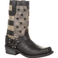 Durango Black Faded Flag Harness Boot, , medium