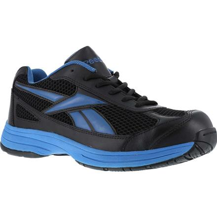 reebok steel toe locut athletic black light blue rb1620